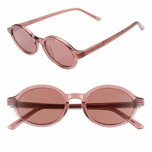 NEW Madewell Callahan 50mm Oval Sunglasses